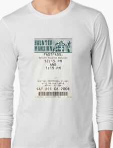 Haunted Mansion Fastpass Long Sleeve T-Shirt
