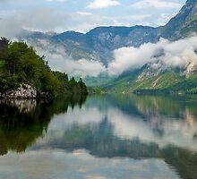 Morning at Lake Bohinj by Nick Jenkins