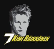 Kimi Raikkonen 7 - Face by evenstarsaima