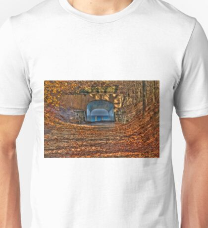 Tunnel Park in Autumn Unisex T-Shirt