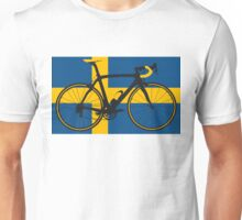 Bike Flag Sweden (Big - Highlight) Unisex T-Shirt