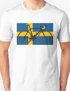 Bike Flag Sweden (Big - Highlight) T-Shirt