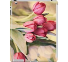 Vintage Tulips iPad Case/Skin