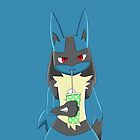 Lucario by Winick-lim
