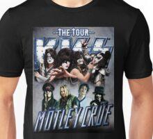 motley crue the kiss tour Unisex T-Shirt