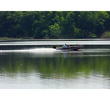 Speed Fishing Photographic Print