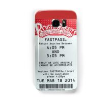 Roger Rabbit's Cartoon Spin Fastpass Samsung Galaxy Case/Skin