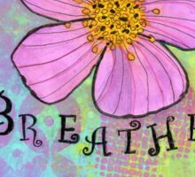 Breathe Gratitude Sticker