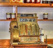 The Old Cash Register by Kathy Baccari