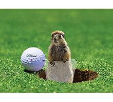 Gopher Golf Photographic Print