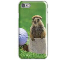 Gopher Golf iPhone Case/Skin