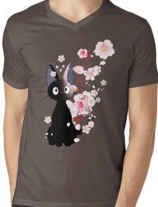 Jiji Mens V-Neck T-Shirt