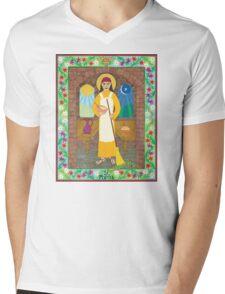 St. Martha Icon Mens V-Neck T-Shirt