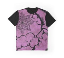 Moon vintage pink Graphic T-Shirt