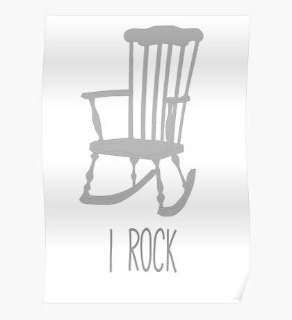 I rock Poster