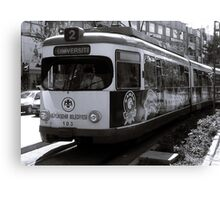 Tramvay Canvas Print