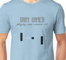 Gray Gamer Unisex T-Shirt