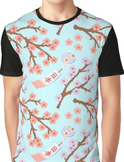 8BIT SAKURA Graphic T-Shirt