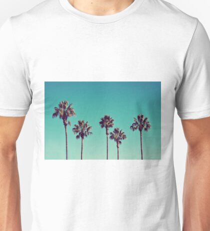 California Palm Trees Unisex T-Shirt