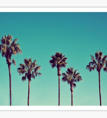 California Palm Trees Sticker
