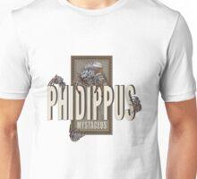 """Phidippus Mystaceus Jumping Spider """"Scrumpy"""" Tribute Unisex T-Shirt"""