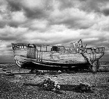 High and Dry at Dungeness by Dave Hare