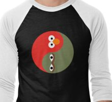 Yin and Yang on the Street Men's Baseball ¾ T-Shirt