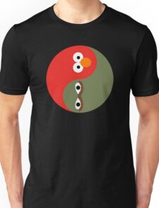 Yin and Yang on the Street Unisex T-Shirt