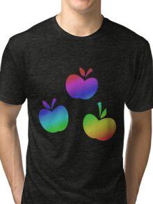MLP - Cutie Mark Rainbow Special - Applejack Tri-blend T-Shirt