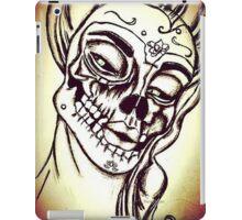 Victorian Lady SugarSkull iPad Case/Skin