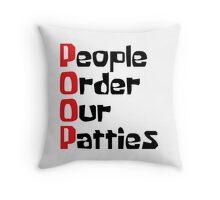 POOP Throw Pillow