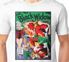 Black Widow Comic Page Unisex T-Shirt
