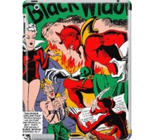 Black Widow Comic Page iPad Case/Skin