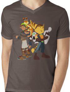 Playstation Duo Teams! Mens V-Neck T-Shirt