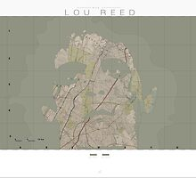 lou reed map by JeppeRingsted