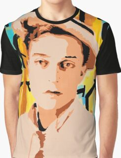 Buster Keaton 2 Graphic T-Shirt