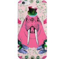 The Walrus And The Carpenter iPhone Case/Skin