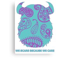 Sulley - Monsters Inc. Canvas Print