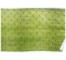 Chain Link Fence Poster