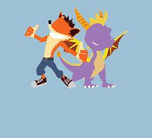 Crash and Spyro Unisex T-Shirt