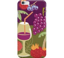 Sweet Summer Wine Smoothies iPhone Case/Skin