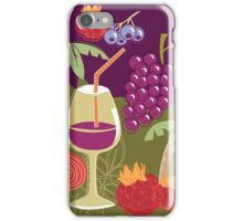 Sweet Summer Wine Smoothies iPhone Case/Skin