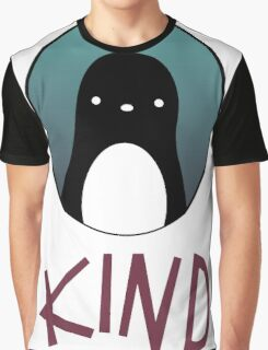 kind pinguin Graphic T-Shirt