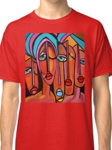 PICASSO PAINTING BY NORA  FOUR EYES Classic T-Shirt
