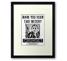 Wanted - Hermione Granger Framed Print