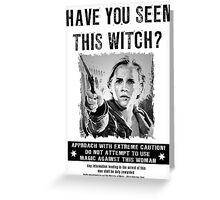 Wanted - Hermione Granger Greeting Card