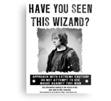 Wanted - Ron Weasley Metal Print
