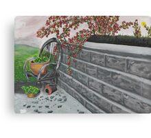 Garden Wall Canvas Print