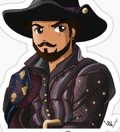Porthos Season 3 Sticker