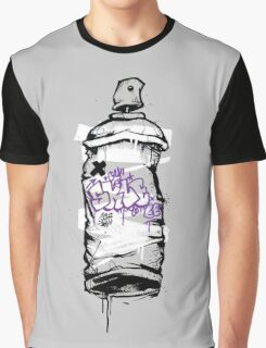 Spray Can Graphic T-Shirt
